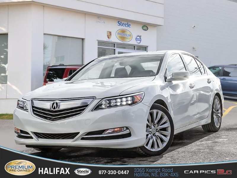 Pre-Owned 2014 acura rl tech pkg