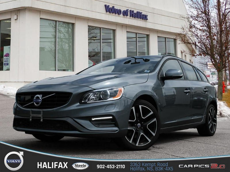 Certified Pre-Owned 2018 volvo v60 dynamic t5 awd