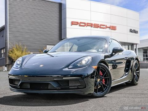 Certified Pre-Owned 2018 porsche cayman gts