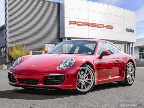 Certified Pre-Owned 2017 porsche 911 carrera 2 carrera s