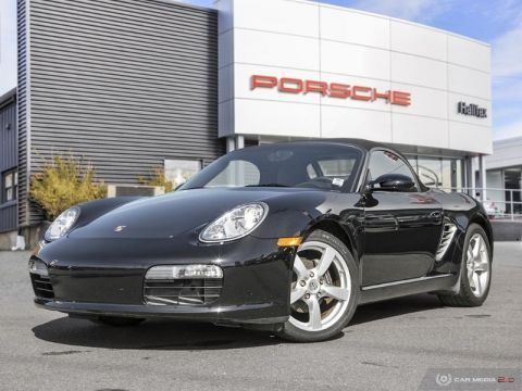 Certified Pre-Owned 2008 porsche boxster